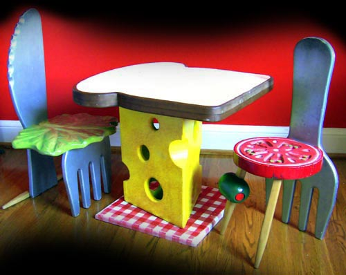 Childrens Furniture Inspired By Food